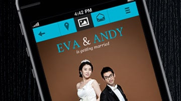 Wedding Mobile Web App